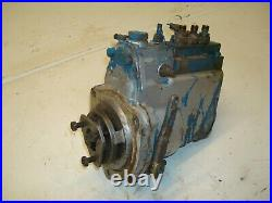 1968 Ford 3000 Diesel Tractor SIMMS Injection Pump