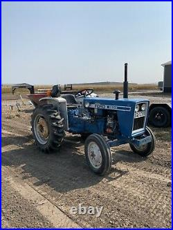 1976 Ford 1600 diesel tractor