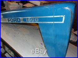 1977 Ford 1600 diesel Farm tractor hood (VERY NICE)