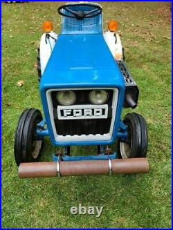 (1980) Ford Model 1100 Diesel Tractor, 3PT, PTO 296 Hours