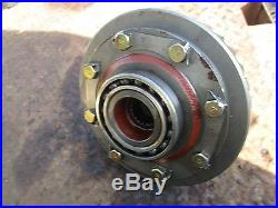 1981 Ford 1710 tractor diesel differential ring gear assembly FREE SHIP 39 TEET