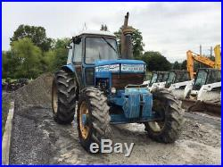 1981 Ford TW20 4X4 125Hp Farm Tractor with Cab CHEAP