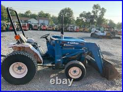 1995 Ford 1520 4x4 Hydro 20Hp Compact Tractor with Loader Cheap