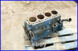 64 Ford 4000 Diesel Tractor engine block crank case cylinders