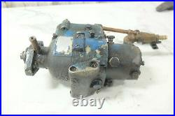 64 Ford 4000 Diesel Tractor fuel injector injection pump Hartford machine