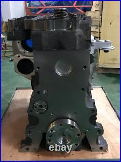 All New Long Block For 3.9L Cummins 4B engine complete 8V Rotation Pump Case Jcb