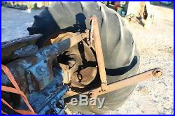 Antique Ford Tractor Fordson Major Diesel parting out. Fuel Tank