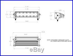 Baja Designs Offroad OnX6 10 Hybrid LED / Laser Light Bar 7183 Lumens IP69K