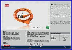 DEFA 460961 MINI PLUG POWER SHORE REINFORCED CABLE 5 Meter CAR HEATING ORANGE