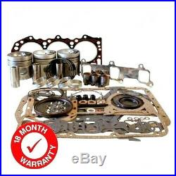 Engine Overhaul Kit (less Liners) Fits Some Ford 3000 Tractors