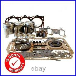 Engine Overhaul Kit (less Liners) For Some Ford 3000 Tractors