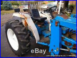 FORD 1720 Tractor 7108 Loader 4WD 27HP DIESEL Power Steering JUST SERVICED