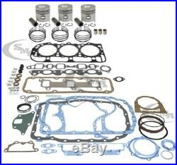 FORD ENGINE OVERHAUL KIT 201 CID 3 CYL. Gas 4000 1968-1974 4600 1975-1981