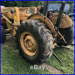 FORD TRACTOR DIESEL. 445A. 4x4