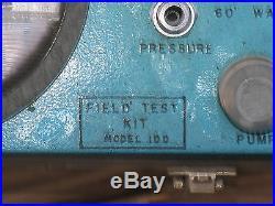 Field Test Kit # 100 Gas Diesel Truck Tractor CAT John Deere IH Ford Cummins