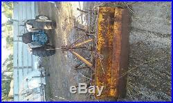 Ford 1700 diesel 4 wheel drive tractor