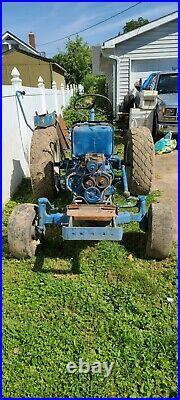 Ford 1900 2 Wheel Drive Diesel Tractor