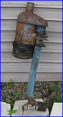 Ford 2000 Tractor Air Cleaner 4 cyl Diesel Oil Bath Filter with bracket and tube