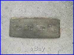 Ford 3000 diesel tractor front nose cone grill hood top grill screen & FORD Logo