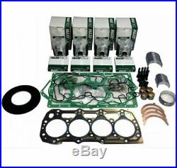 Ford 3415 Tractor with Shibaura N844L 4 Cyl Diesel Engine Overhaul Rebuild Kit