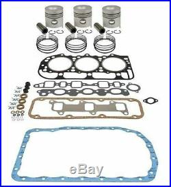 Ford 3600 Tractor 175 CID 3 Cyl. Diesel Engine 4.2 Inframe Overhaul Kit