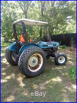 Ford 3930 2WD Diesel Tractor with Turf TIres Canopy Top Operationally Sound Unit