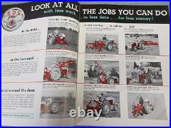 Ford 640, 650, 660, 850, 860 & Fordson Major Diesel Farm Tractor brochure