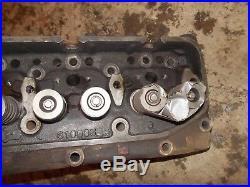 Ford 800 900 901 Diesel tractor ORIGINAL WORKING engine motor cylinder head