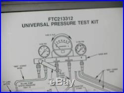 Ford FTC213312 Universal Pressure Test Kit Diesel Tester Tractor Truck Farm