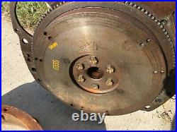 Ford Industrial Tractor 172 Stanadyne 4 Cyl Diesel Pump Engine Head Flywheel