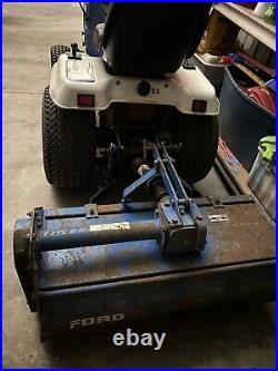Ford LGT16D Diesel Garden tractor With Tiller