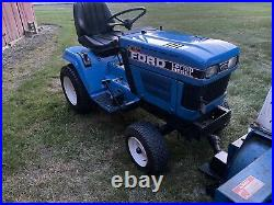 Ford LGT16D With Front snow blower And Front Push Blade 16 HP Diesel Tractor