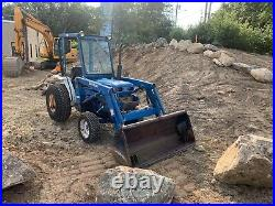 Ford New Holland 1620 Compact Tractor Loader Mower SnowBlower Sweeper 4x4 Hydro