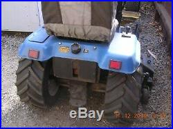 Ford New Holland LGT 14D Diesel Garden Tractor with48 Mower