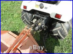 Ford New Holland LGT16D LGT 16D Garden Tractor Diesel Kubota Rototiller, Blade