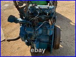 Ford / Perkins F3.144 diesel engine, X Fordson Dexta Tractor. £650+VAT