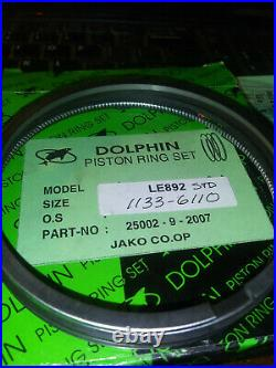 Ford Tractor Shibaura Le892 Piston Rings