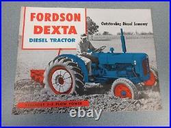 Fordson Dexta Diesel Farm Tractor Brochure lw