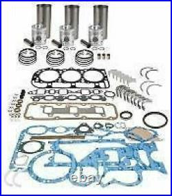 J. I. CASE ENGINE OVERHAUL KIT 165004 3 Cyl. DIESEL 1190 1194