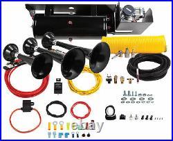Kleinn 230 Beast Triple ABS Train Horn Kit For 11-15 Ford Super Duty F-250 F-350