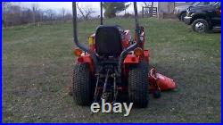 Kubota B1550 HST Tractor 4x4 Mower loader compact, Not John Deere Ford
