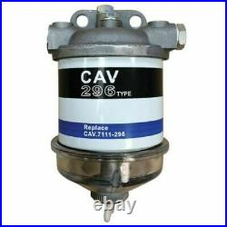 New Glass Bowl Diesel Fuel Filter Assembly For Case IH 433 533 574 584 585 644