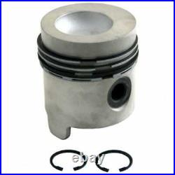 Piston & Rings Standard Compatible with Ford 2910 3000 5000 2610 5600 3600