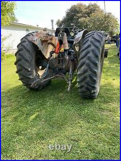 She didnt think my 70s Ford 5000 Diesel Tractor was sexy! With Bucket & Hay Spear