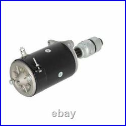 Starter with Starter Drive Style DD (3110) 6 Volt fits Ford 2120 4000 2000