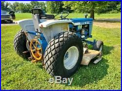 Very Clean Ford 1600 / belly mower Diesel tractor Clean CAN SHIP CHEAP