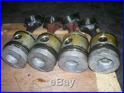 Vintage Fordson Major Diesel Tractor -rods & Piston Sets New Rings -1954