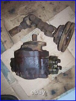 Vintage Fordson Super Major Diesel Tractor -front Pump & Drive Pulley