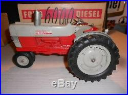 Vintage Hubley FORD 6000 DIESEL Tractor & BOXRed & GrayNice ORIGINAL Farm Toy