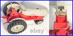 Vintage Red Ford 6000 Diesel Tractor by Hubley